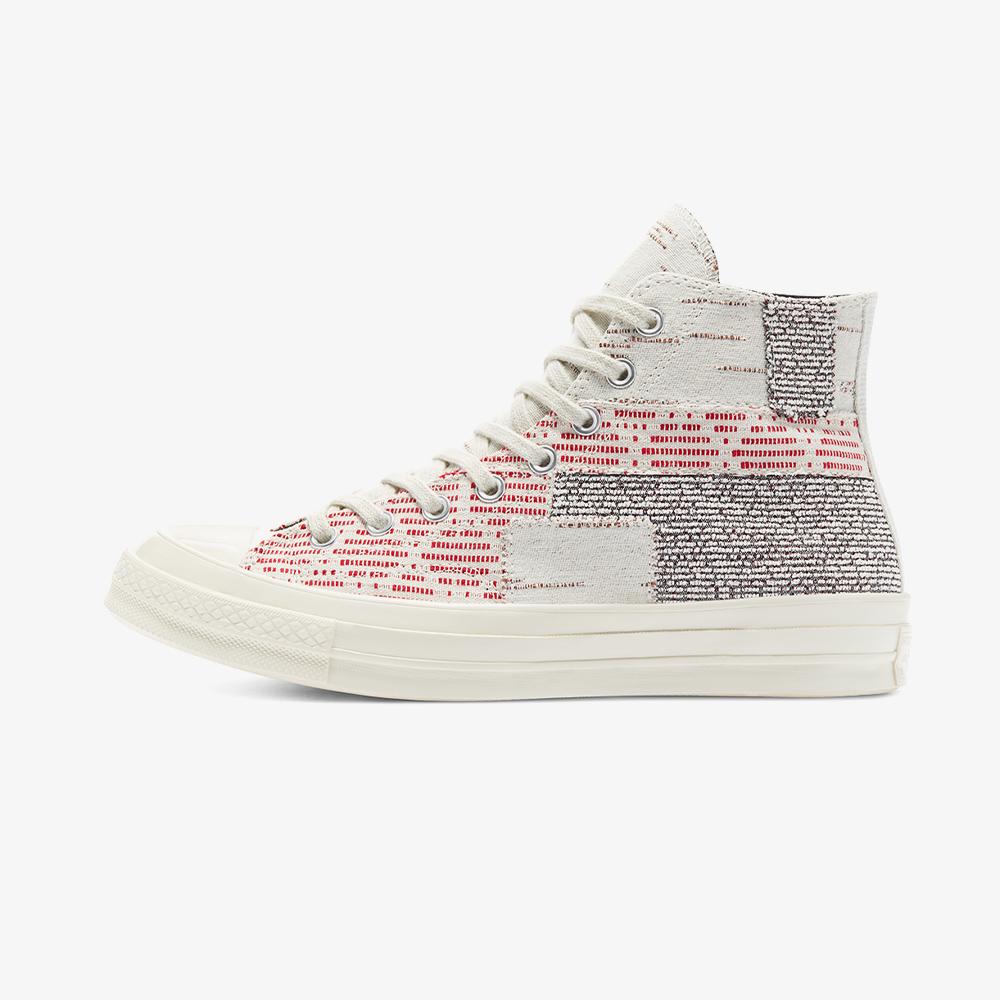Converse Chuck 70 Patchwork Hi Unisex Gri Sneaker