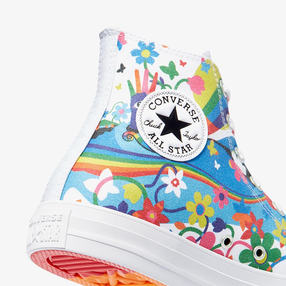 Converse Chuck Taylor All Star Pride Hi Kadın Beyaz Sneaker