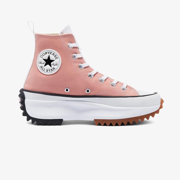 Converse Run Star Hike Hi Kadın Pembe Sneaker