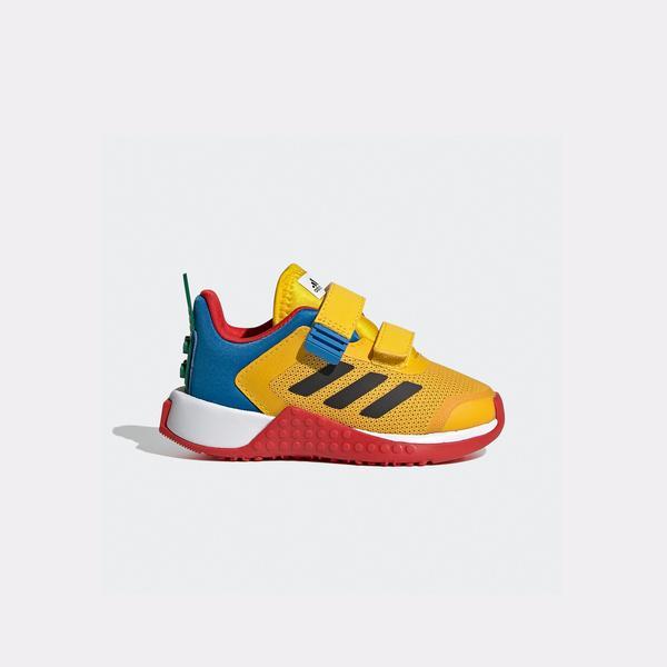 adidas Lego Sport CF I Bebek Sarı Spor Ayakkabı