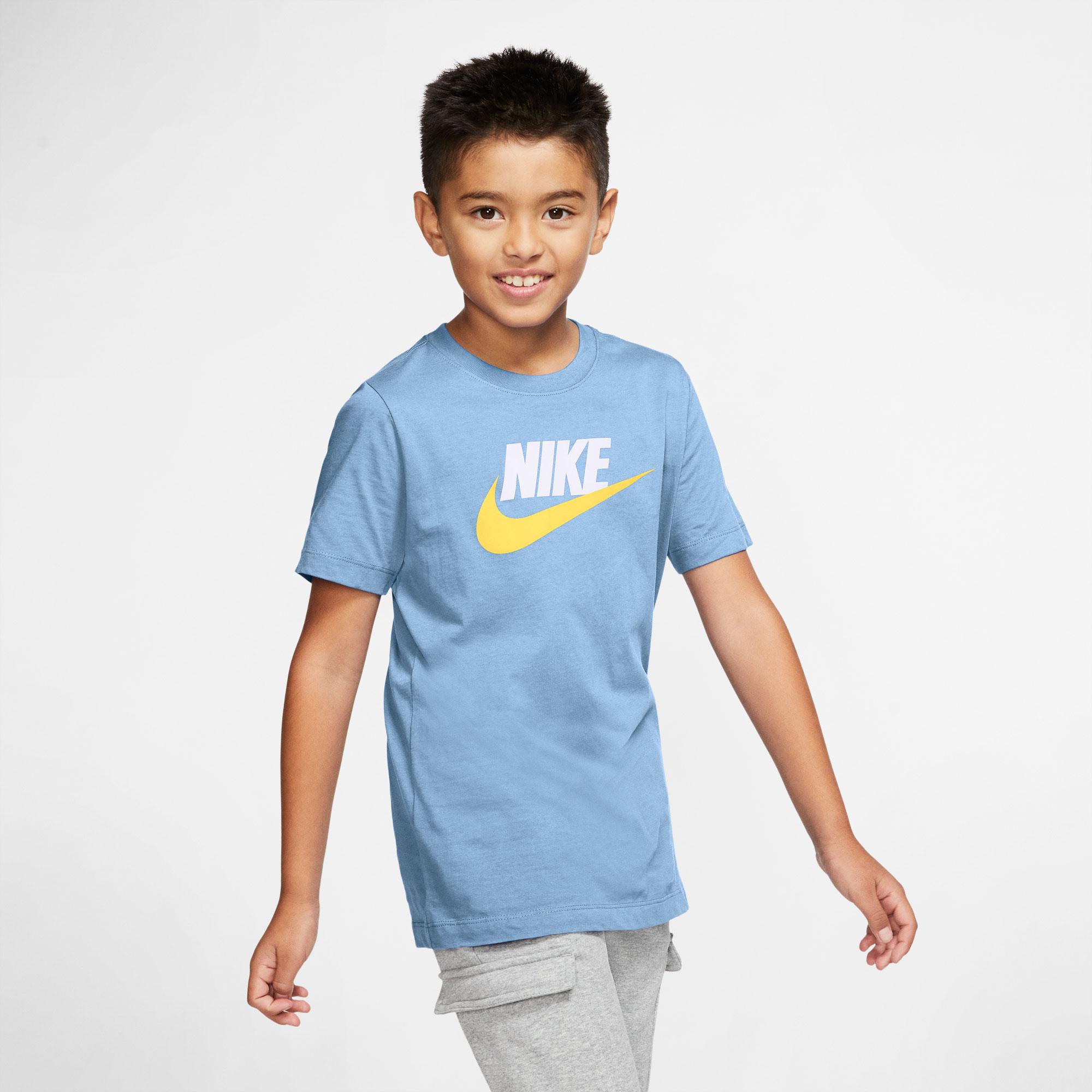 Nike Sportswear Futura Icon Td Çocuk Mavi T-Shirt