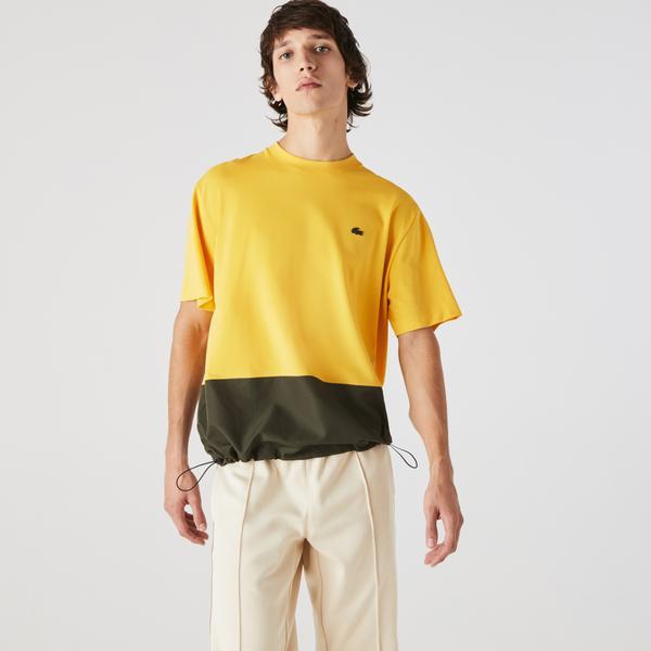 Lacoste Erkek Bisiklet Yaka Sarı T-Shirt