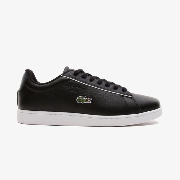 Lacoste Carnaby Evo 120 2 Sma Erkek Beyaz - Siyah Spor Ayakkabı