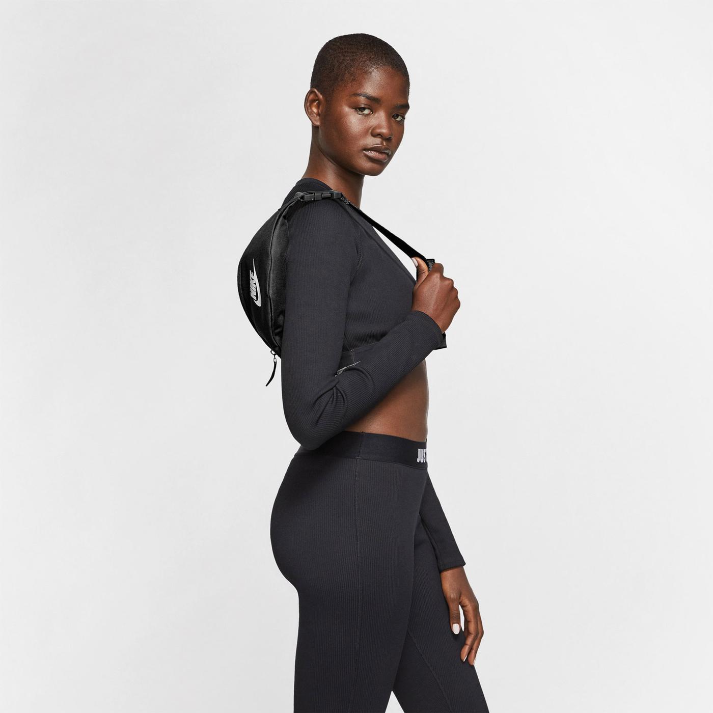 Nike Heritage Kadın Siyah Bel Çantası