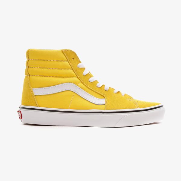 Vans SK8-Hi Kadın Sarı Sneaker