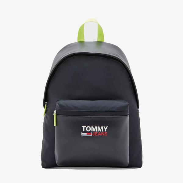 Tommy Hilfiger TJM Campus Twist Dome Erkek Siyah Sırt Çantası