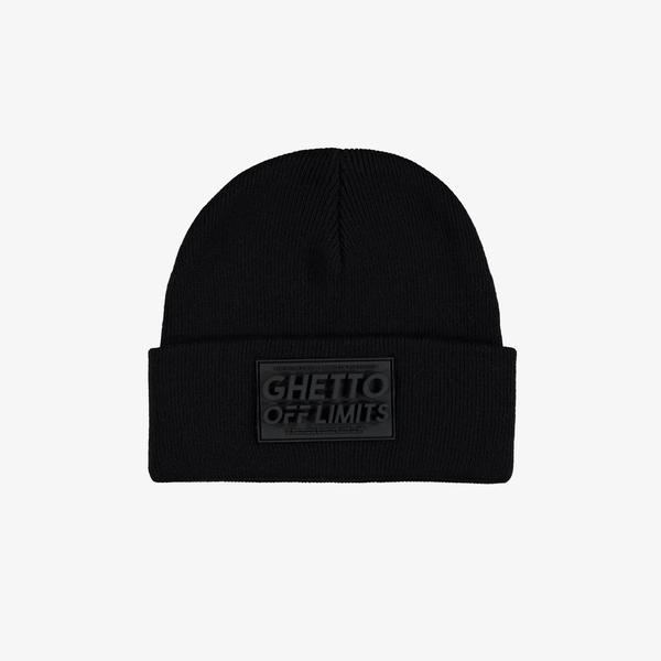 Ghetto Off Limits Siyah Unisex Bere