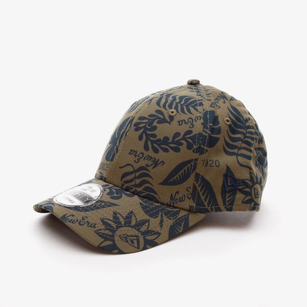 New Era Hıbıscus Prınt 9Forty Unisex  Yeşil Şapka