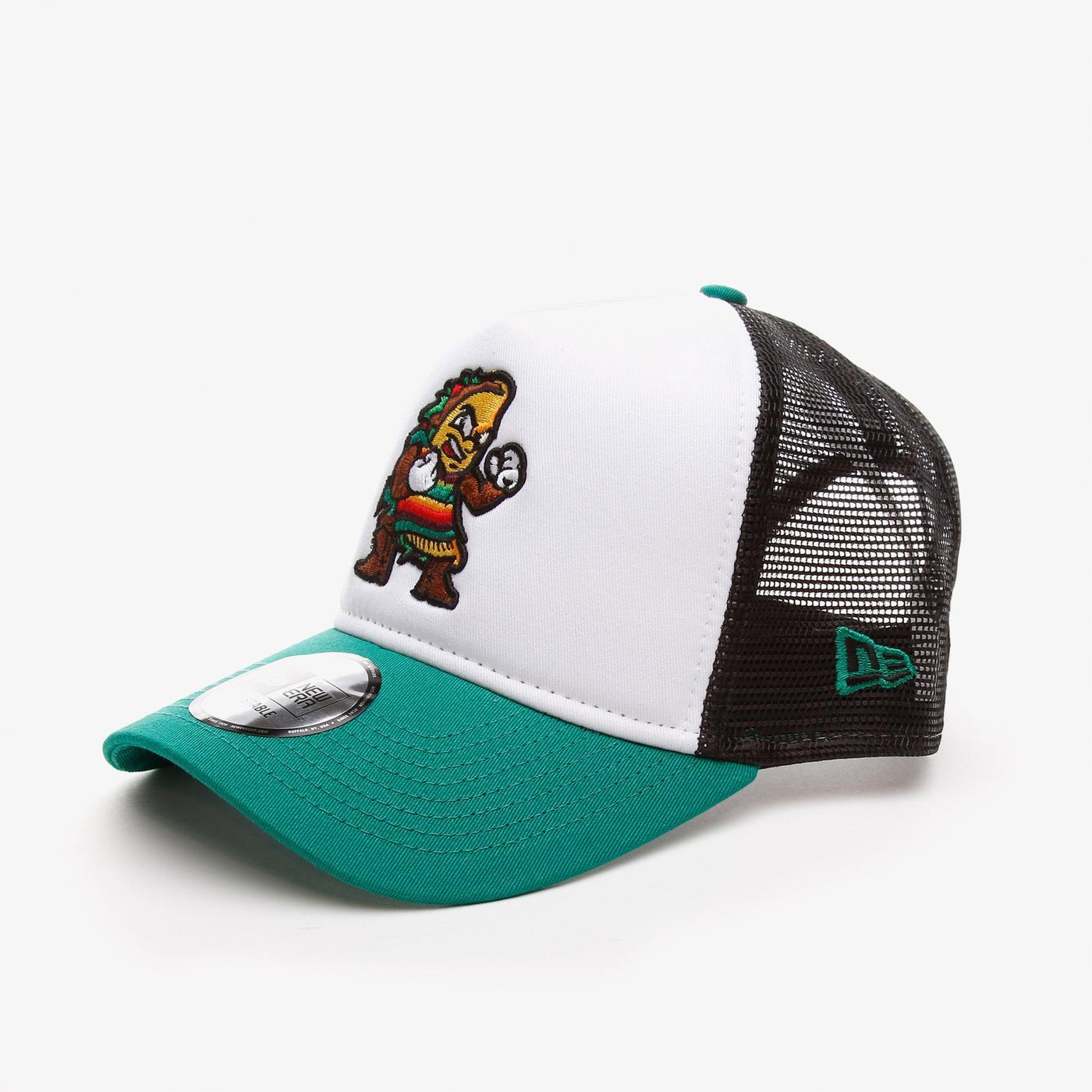 New Era Mınor League Trucker Fregrı Unisex  Yeşil Şapka