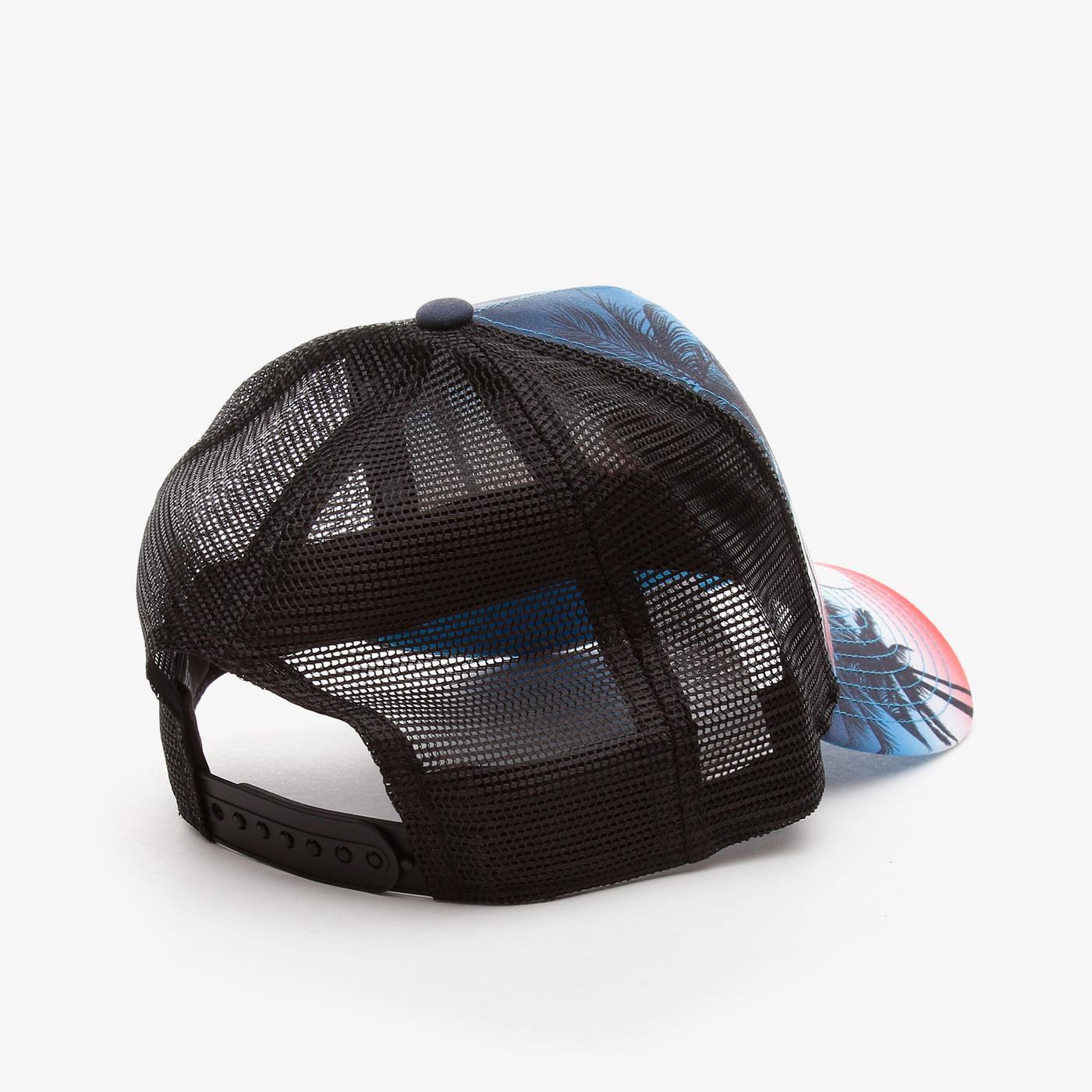 New Era Summer Cıty Trucker Mıamar Unisex  Siyah Şapka
