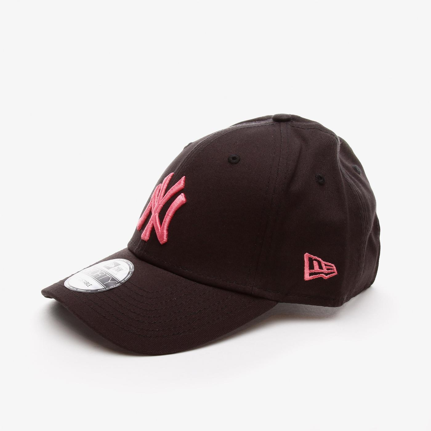 New Era League Essentıal 9Forty Neyyan Unisex  Siyah Şapka