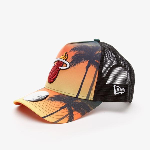 New Era Summer Cıty Trucker Mıahea Unisex Renkli Şapka