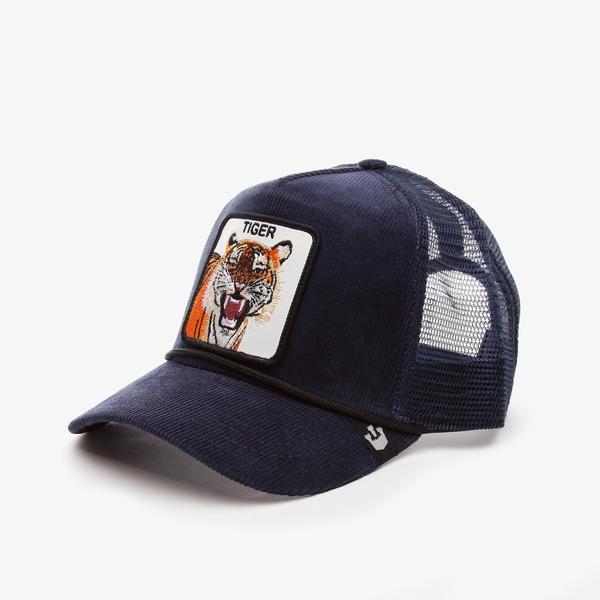 Goorin Bros Tiger Rage Unisex Lacivert Şapka