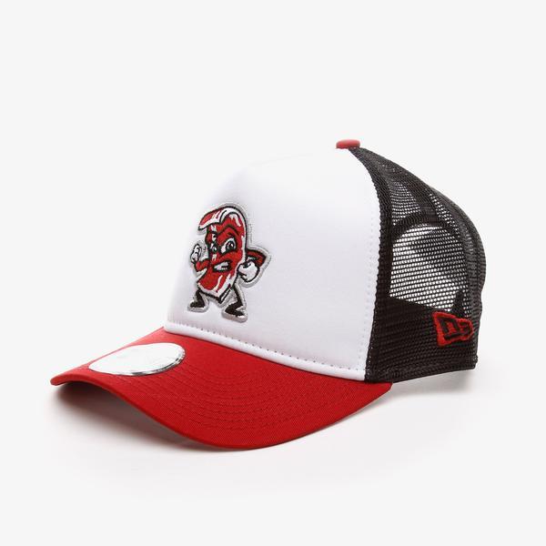 New Era Mınor League Trucker Lehıro Unisex  Kırmızı  Şapka