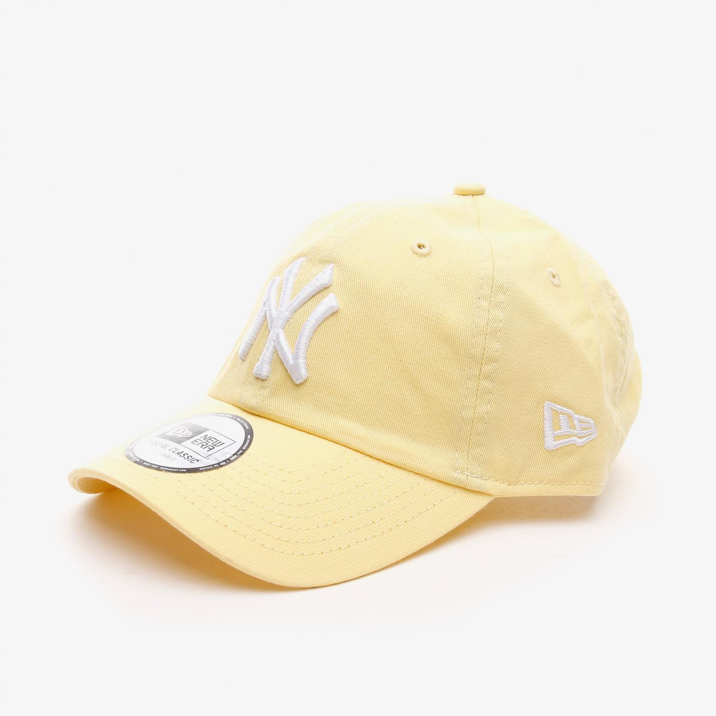 New Era Washed Cscl 9Twenty Neyyan Unisex  Pastel Sarı Şapka