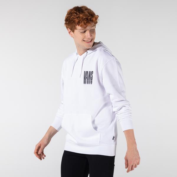Vans Reflect Pullover Erkek Beyaz Kapüşonlu Sweatshirt