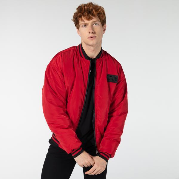 Ghetto Off Limits Bomber Jacket Double Side Kırmızı Unisex Ceket