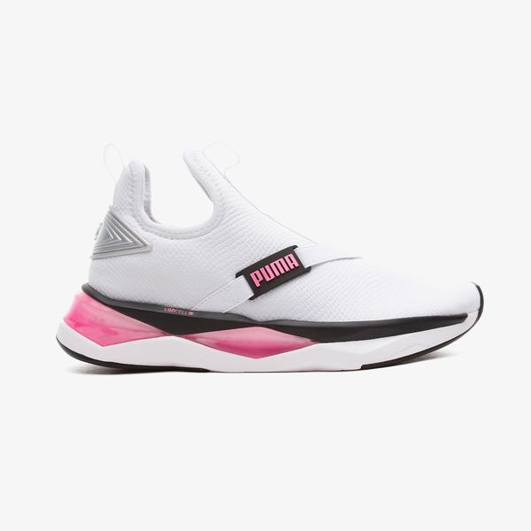 Puma LQDCELL Shatter Mid Kadın Beyaz Spor Ayakkabı