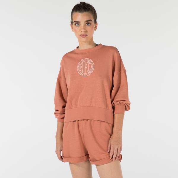 Nike Sportswear Femme Kadın Kahverengi Sweatshirt