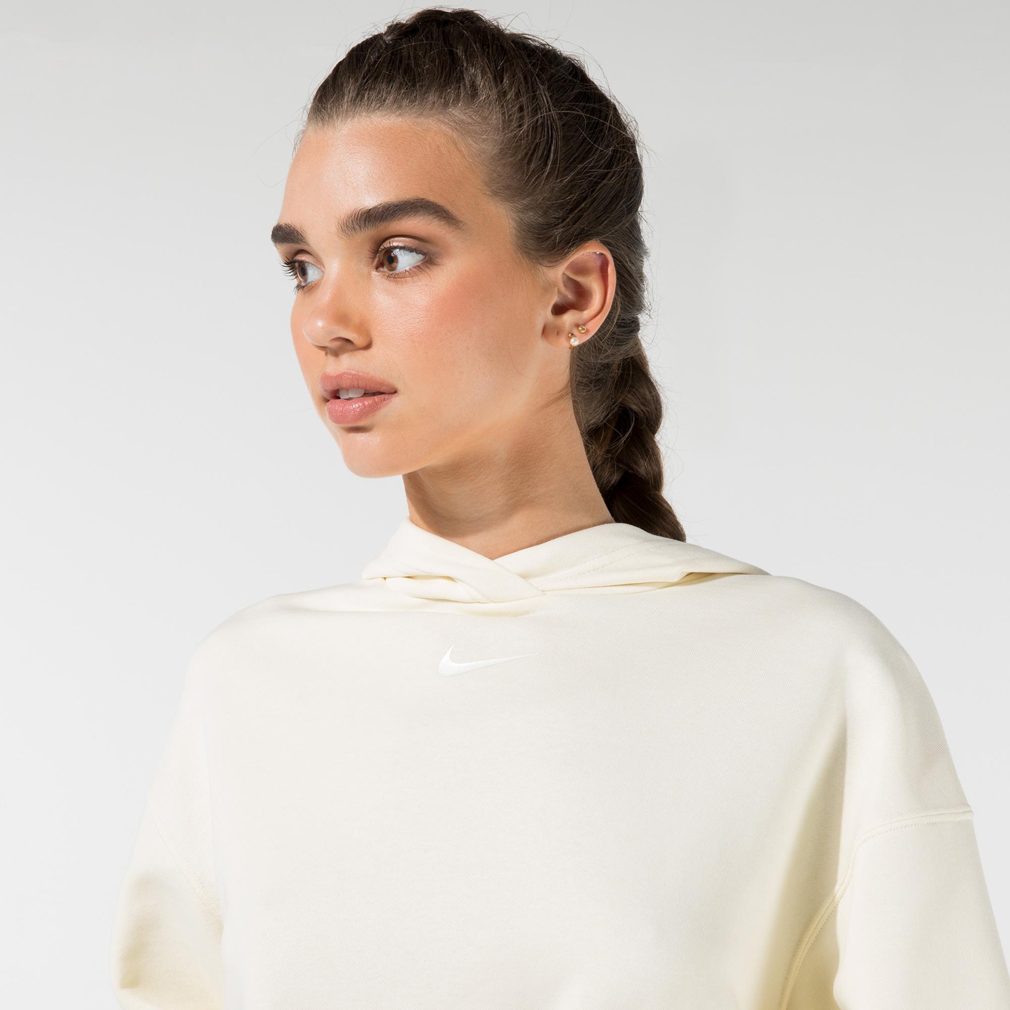 Nike Kadın Sarı Sweatshirt