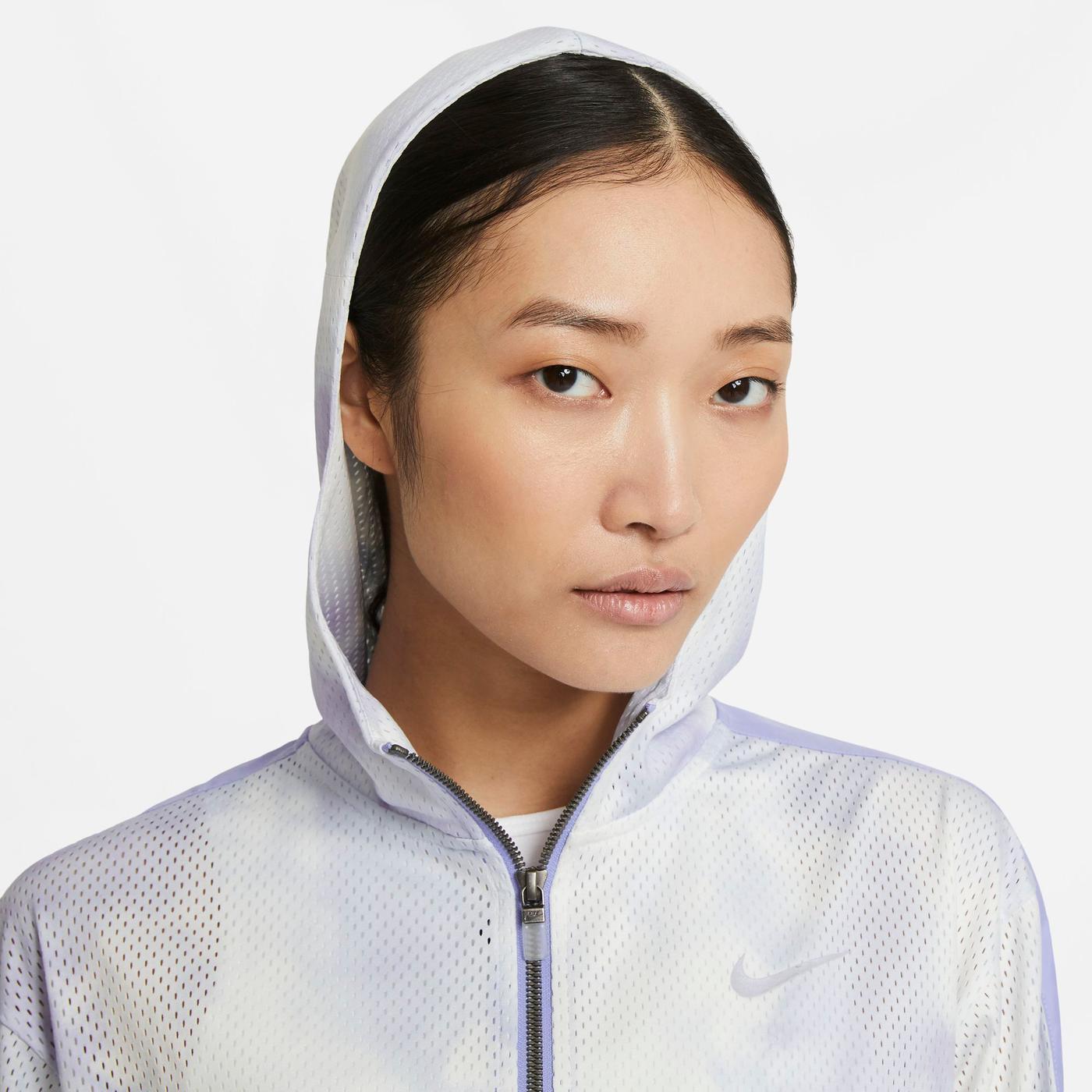 Nike Sportswear Icon Clash Kadın Mor Ceket