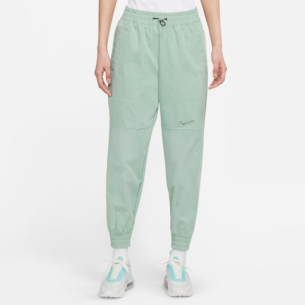Nike Sportswear Swoosh Kadın Yeşil Eşofman Altı