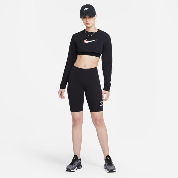 Nike Sportswear Essential Kadın Siyah Şort