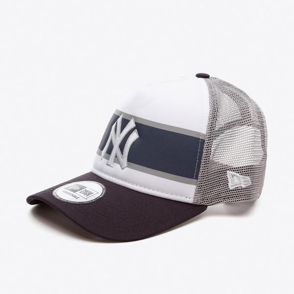 New Era Retro Trucker Neyyan Unisex  Beyaz Şapka