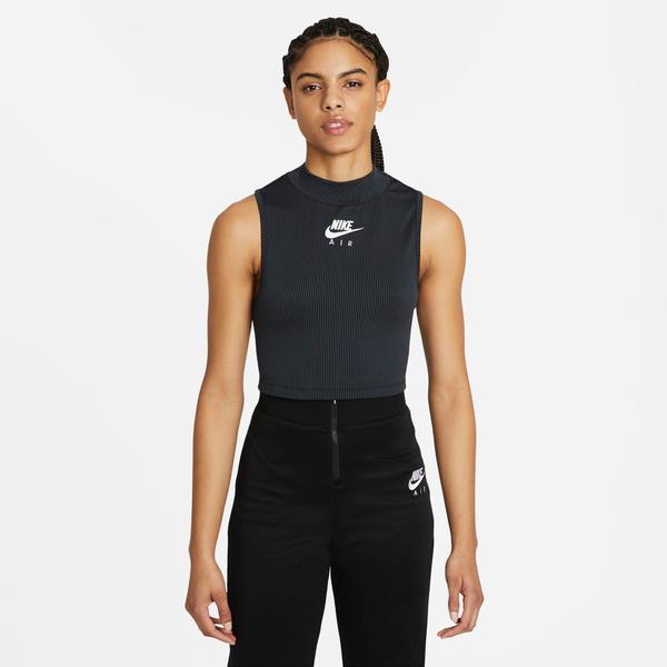 Nike Sportswear Air Rib Kadın Siyah T-Shirt