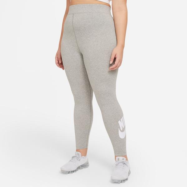 Nike Sportswear Essential Gx Hr Futura Kadın Gri Tayt