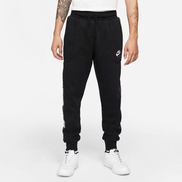 Nike Sportswear Nike Air Fleece Erkek Siyah Eşofman Altı