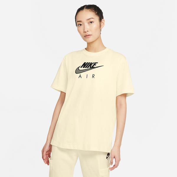 Nike Air Kadın Krem Boyfriend T-Shirt