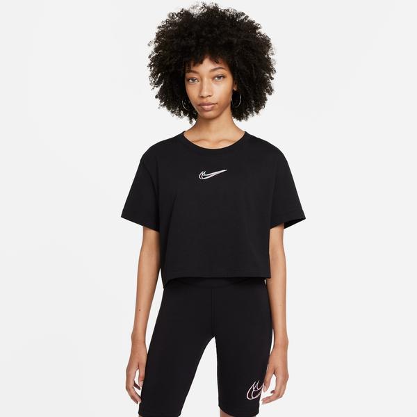 Nike Sportswear Kadın Siyah Crop T-Shirt