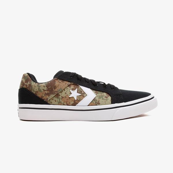 Converse El Distrito 20 Digital Camo Erkek Siyah Sneaker