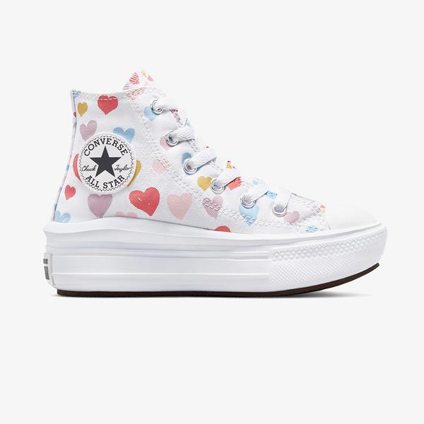 Converse Chuck Taylor All Star Move Hi Çocuk Beyaz Sneaker
