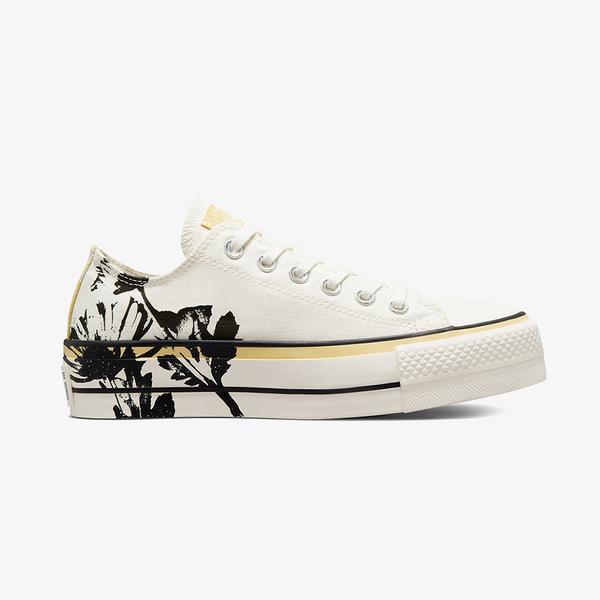 Converse Chuck Taylor All Star Lift Low Kadin Beyaz Sneaker