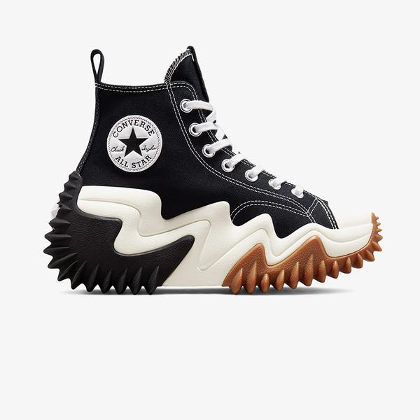 Converse Run Star Motion Platform Kadin Siyah Sneaker