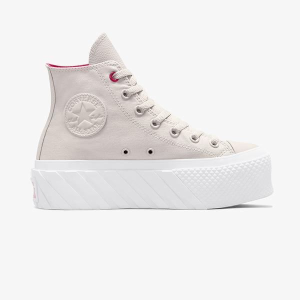 Converse Chuck Taylor All Star Lift 2X Hi Kadin Platform Beyaz Sneaker