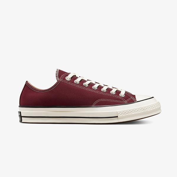 Converse Chuck 70 Low Unisex Bordo Sneaker