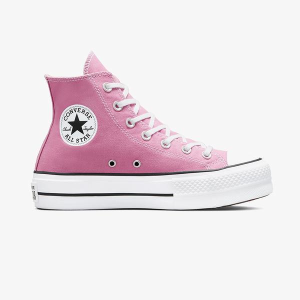 Converse Chuck Taylor All Star Lift Hi Kadin Platform Pembe Sneaker