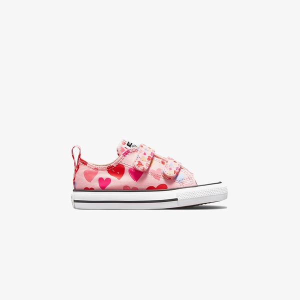 Converse Chuck Taylor All Star 2V Low Çocuk Pembe Sneaker