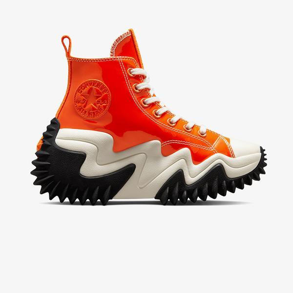 Converse Run Star Motion Platform Kadin Turuncu Sneaker
