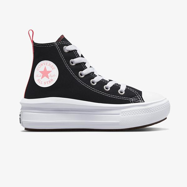 Converse Chuck Taylor All Star Move Hi Çocuk Siyah Sneaker