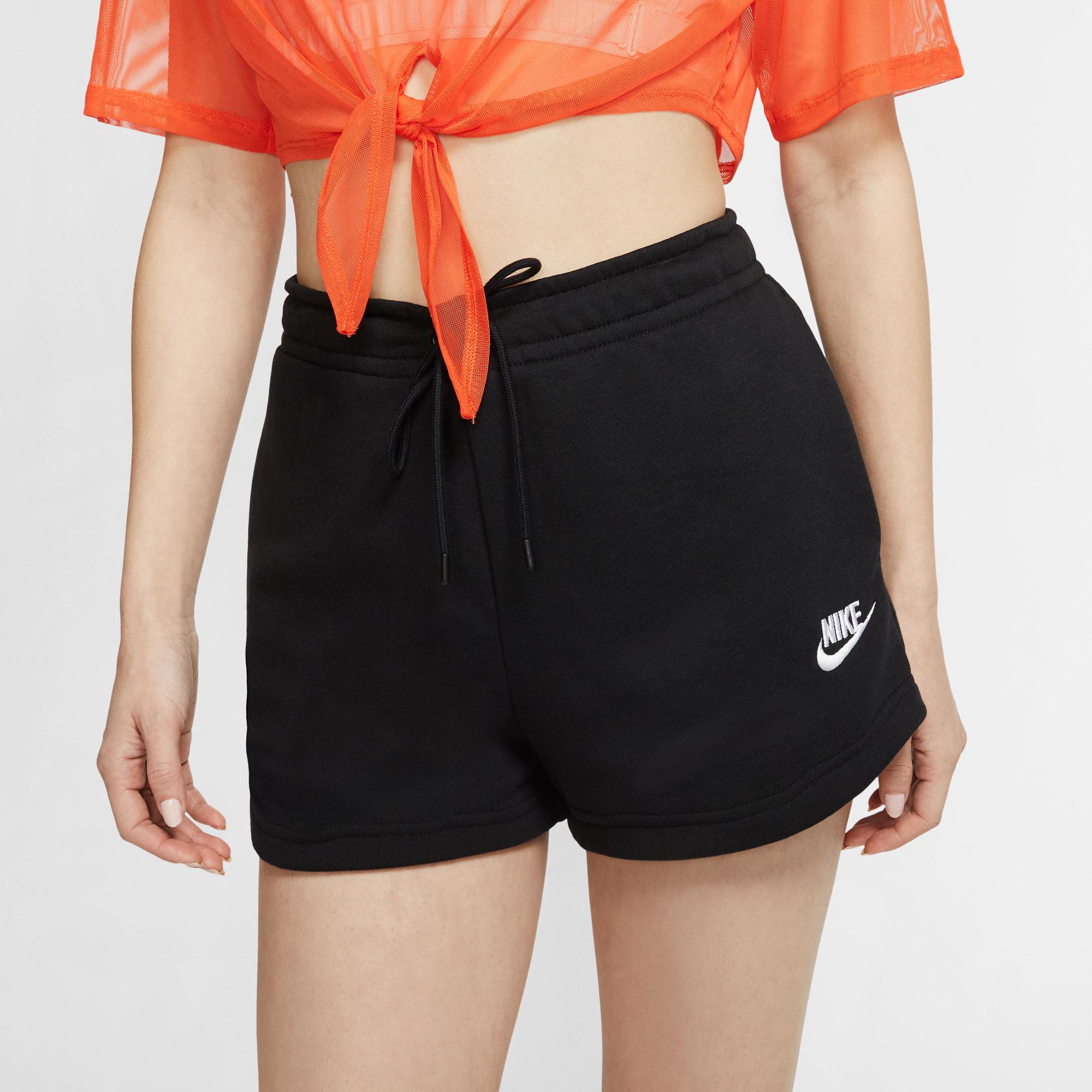 Nike Sportswear Essential Flc Ft Kadın Siyah Şort