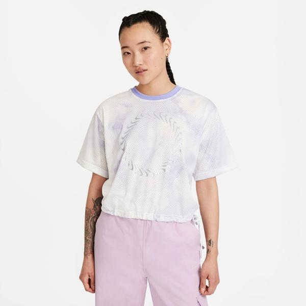 Nike Sportswear Icon Clash Top Mesh Kadın Mor-Lila T-Shirt