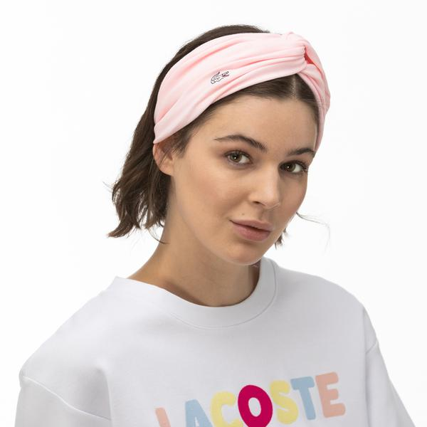 Lacoste Kadın Pembe Saç Bandı