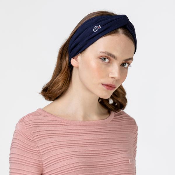 Lacoste Kadın Lacivert Saç Bandı