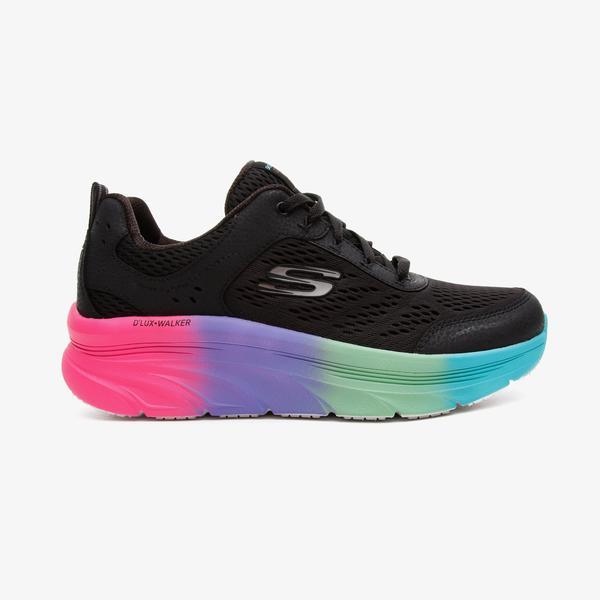 Skechers D'Lux Walker Kadın Siyah Spor Ayakkabı