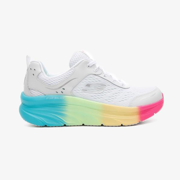 Skechers D'Lux Walker Kadın Beyaz Spor Ayakkabı