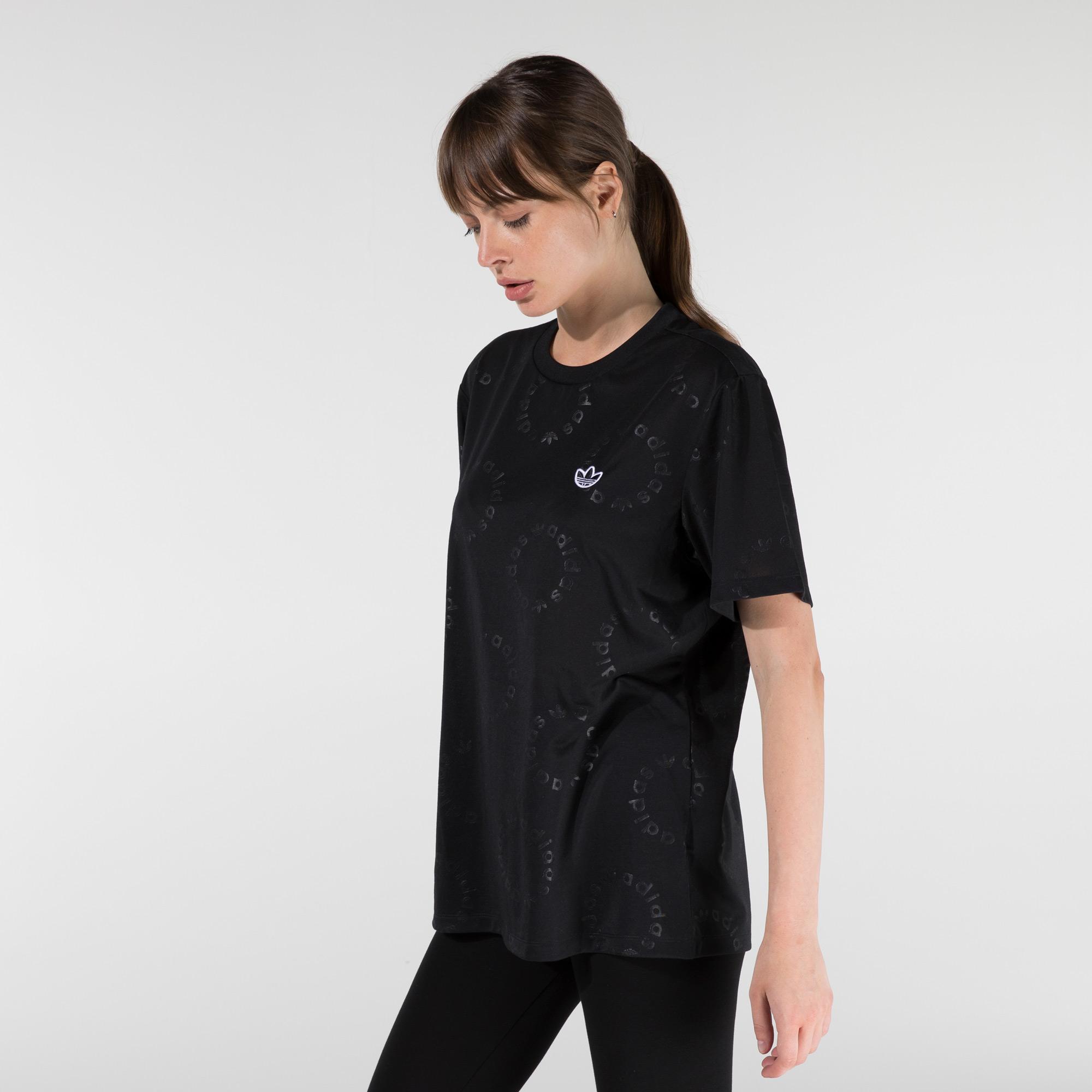 adidas Kısa Kollu Kadın Siyah T-Shirt